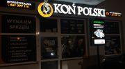 Koń Polski - litery 3d + kasetony dibond